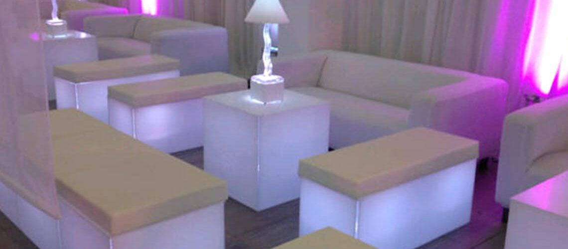 White ice colours for our Geo LED Iluminated Chill Out furniture - http://furniture4events.com/furniture/chill-out/led-illuminated-seating/