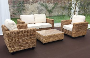 1. HERO - Indoor Rattan Set