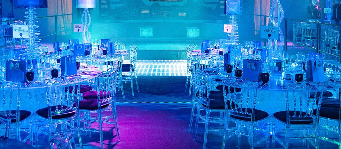swirled acrylic led round table furniture4events