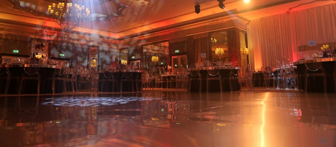 Brushed Silver Mirror Dance Floor - Furniture4Events