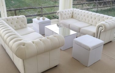 White Chesterfield