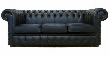 black chesterfield square