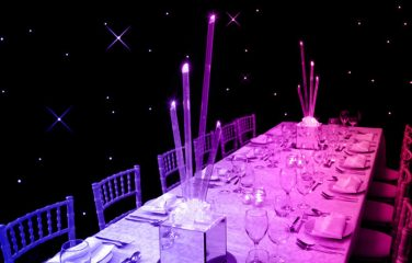 Ice Shard table centre with LED lights - http://furniture4events.com/product/ice-shard/