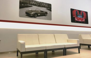 Luna 3-seater Sofa (ferrari event)