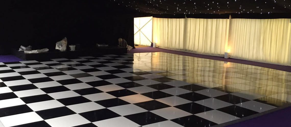 Chequerboard Black Amp White Dance Floor Furniture4events